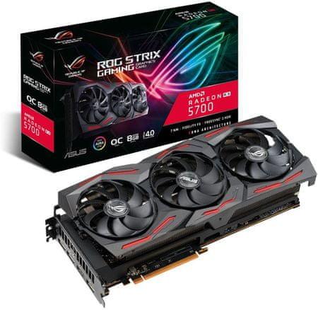 Asus ROG Strix OC Radeon RX 5700, 8 GB GDDR6 grafična kartica