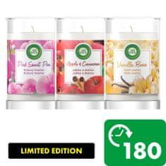 Air wick XXL svíčky - zimní kolekce (3 x 310 g)