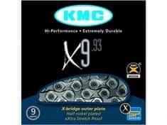 KMC řetěz X9.93 stříbrný 114 čl. BOX