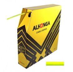 Alhonga bowden řadicí 1.2/4.0mm SP 30m reflex žlutý box