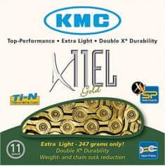 KMC řetěz X11EL GOLD BOX 118čl.