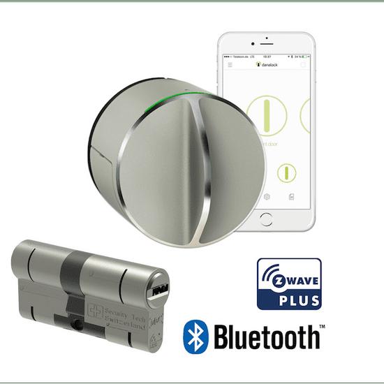 danalock V3 set - Chytrý zámek a cylindrická vložka - Bluetooth & Z-Wave - rozbaleno