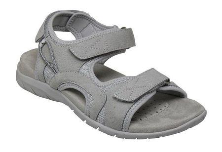 SANTÉ Zdravotná obuv dámska MDA / 702-15 ALLUMINIUM šedá (Veľkosť 39)