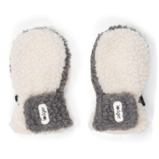 Lodger rukavice Mittens Teddy 6 - 12 m smetanová