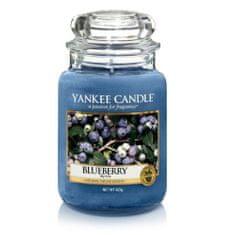 Yankee Candle Aromatická svíčka velká Borůvka (Blueberry) 623 g