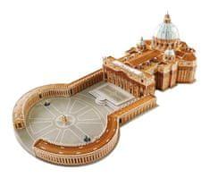 Small foot Small Foot Třívrstvé pěnové 3D puzzle Bazilika svatého Petra