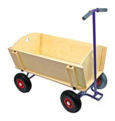 Small foot Small Foot Dřevěný vozik na tahání