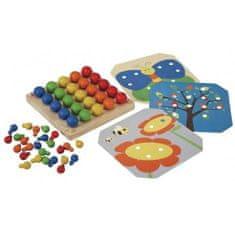 Plan Toys  Kreativní kolíčková tabulka