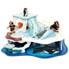 Bigjigs Toys Bigjigs dřevěný ledovec - Polární dobrodružství