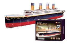 Small foot Small Foot Třívrstvé pěnové 3D puzzle Titanic