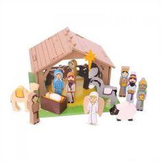 Bigjigs Toys  Betlém pro nejmenší