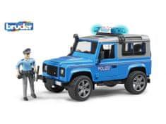 Bruder  Auto Land Rover policie s figurkou