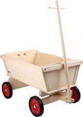 Small foot Small Foot Dřevěný tahací vozík pro děti