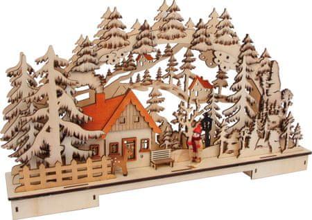 Small foot Small Foot Vánoční svítící dekorace zmní krajina