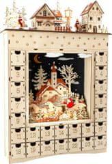 Small foot Small Foot Dřevěný adventní kalendář zimní sen