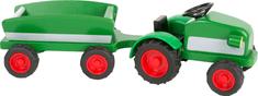 Small foot Small Foot Dřevěný traktor s vlečkou zelený