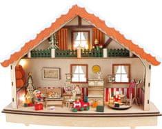 Small foot Small Foot Dřevěný dekorační svítící domeček