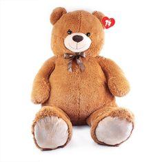 Rappa Velký plyšový medvěd Max s visačkou, 150 cm (od 3 let)