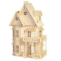 Woodcraft Woodcraft Dřevěné 3D puzzle Gotický dům