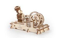 UGEARS  Dřevěná stavebnice 3D mechanické Puzzle Motor