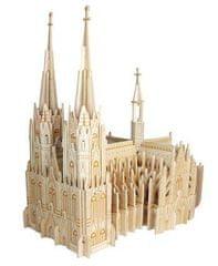 Woodcraft Woodcraft Dřevěné 3D puzzle katedrála Colonia