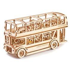Wooden city Wooden City 3D mechanické puzzle - Londýnský bus Double Decker