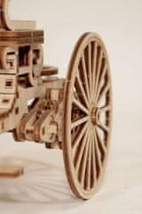 Wood Trick  3D mechanické puzzle - Historický vůz