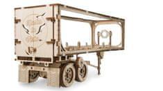 UGEARS  3D dřevěné mechanické puzzle Přívěs Heavy Boy