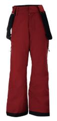 2117 Lammhult Jr otroške smučarske hlače, vinsko rdeče