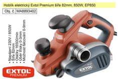 Extol Premium Hoblík elektrický Extol Premium šíře 82mm, 850W, EP850