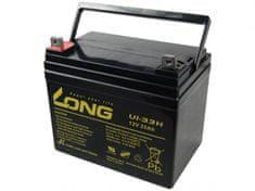 Long Long 12V 33Ah olověný akumulátor F4 (U1-33H)