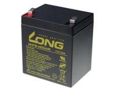 Long Long 12V 5Ah olověný akumulátor HighRate F2 (WP5-12SHR F2)