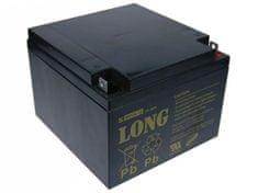 Long Long 12V 26Ah olověný akumulátor F3 (WP26-12)