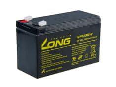 Long Long 12V 9Ah olověný akumulátor HighRate F2 (WP1236W)