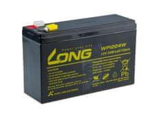 Long Long 12V 6Ah olověný akumulátor HighRate F2 (WP1224W)