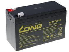 Long Long 12V 7,2Ah olovený akumulátor F2 (WP7.2-12 F2)