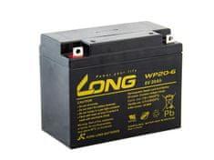 Long Long 6V 20Ah olověný akumulátor F3 (WP20-6)