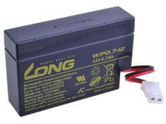 Long Long 12V 0,7Ah olověný akumulátor AMP (WP0.7-12)
