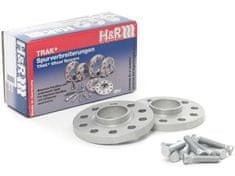 H&R Rozšiřovací podložky DRS-MZ18 pro Mazda 2 DJ1, s délkou náběhového kroužku max. 8,5 mm