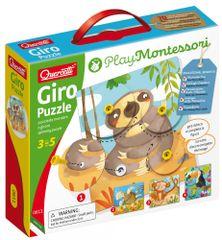 Quercetti układanka obrotowa - Giro Puzzle spinning puzzle