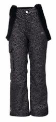 2117 Tällberg Jr otroške smučarske hlače, leopardji vzorec