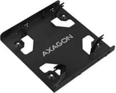 """AXAGON RHD-225L, hliníkový rámček pre 2x 2.5"""" HDD/SSD do 3.5"""" pozice"""