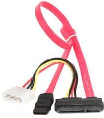 Gembird CABLEXPERT kábel SATA napájecí + datový combo