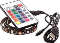 OPTY USB LED pás 50cm, RGB, dálkový ovládač