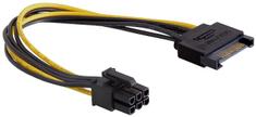 DELOCK napájecí kábel SATA 15 pin na 6 pin PCI Express