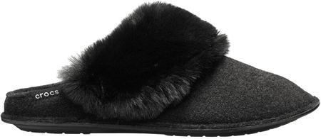 Crocs Női papucs Clasic Luxe Slipper Black 205394-001 (méret 36-37)