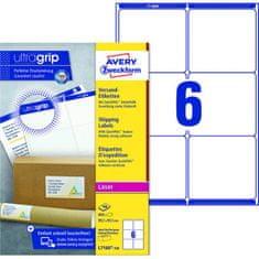 Avery Zweckform Etikety na zásielky 99,1x93,1mm Avery A4 100 hárkov, laser