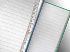Krpa Záznamová kniha A4 100 listov linajková s registrom
