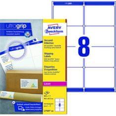 Avery Zweckform Etikety na zásielky 99,1x67,7mm Avery A4 100 hárkov, laser