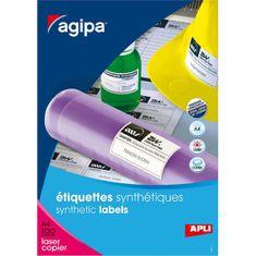 Apli Etikety polyesterové 210x148,5mm A4 100 hárkov